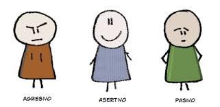 Resultado de imagen de asertividad agresividad pasividad